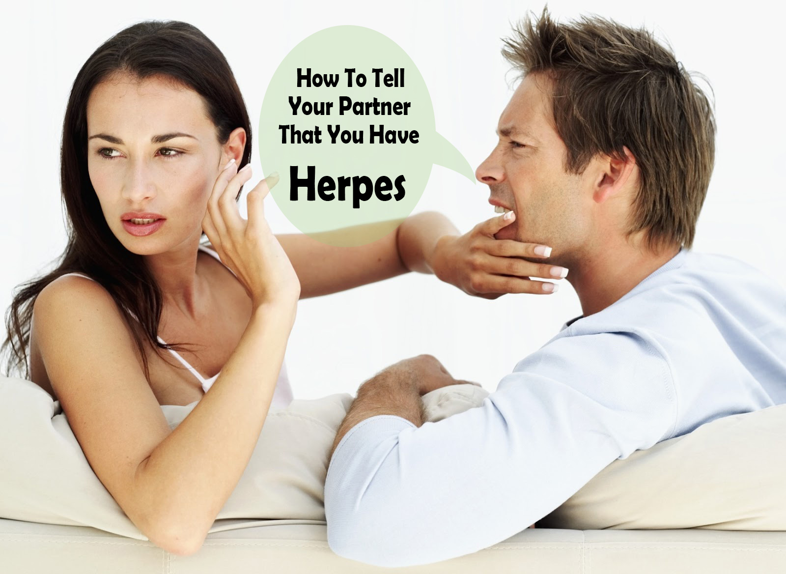 Do you tell your partner you have herpes