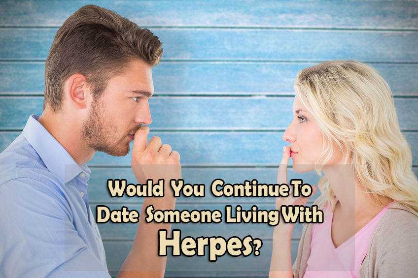 Living with someone who has herpes